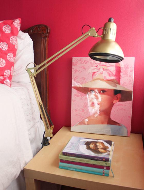 Gold Work Lamp