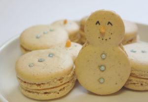 Snowmen Macarons