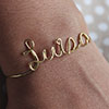 Wire Name Bracelet 10