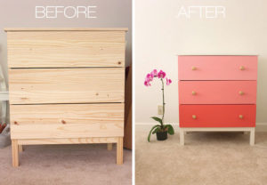 Ikea Hack: Painted Dresser