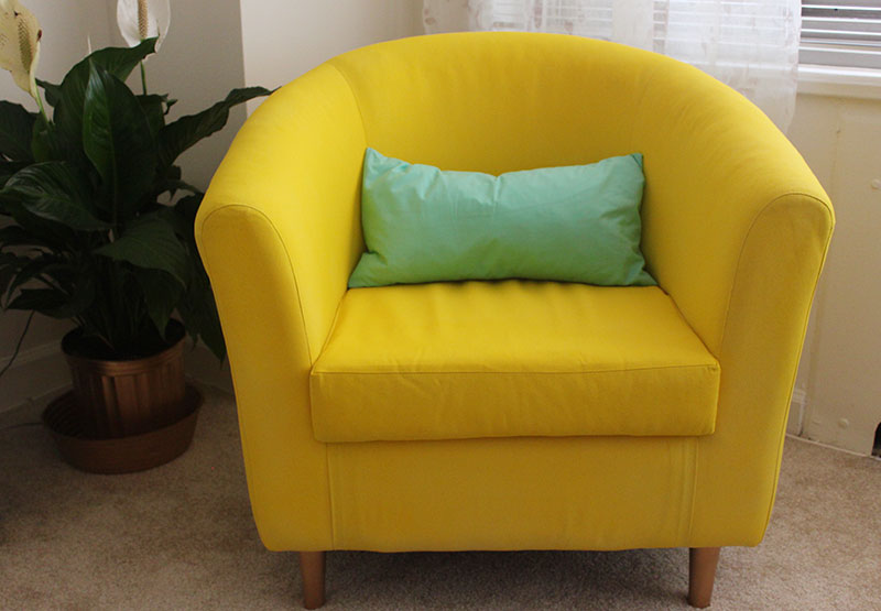 Good Spray Painting Upholstered Furniture #2: Painted-Upholstery-1