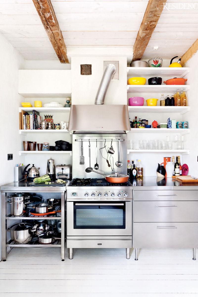 Exposed Kitchen Shelves 3