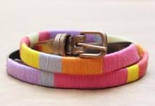 Thread Wrapped Belt