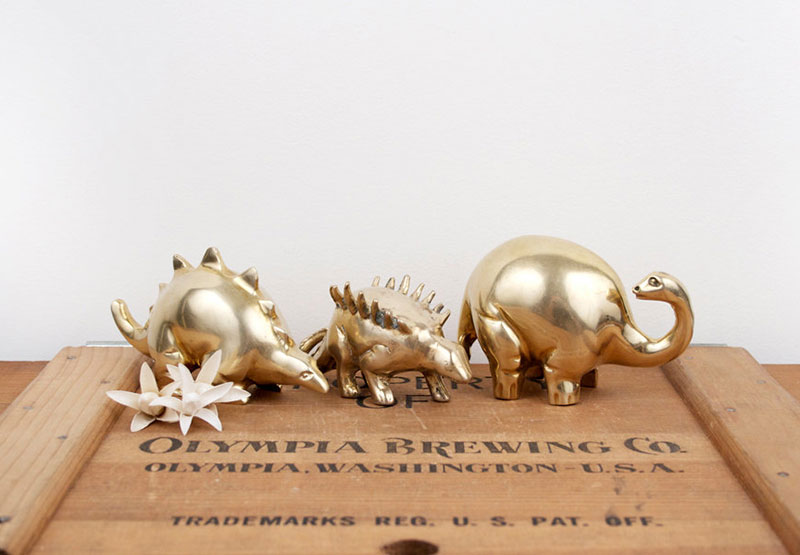 Gold-Figurines