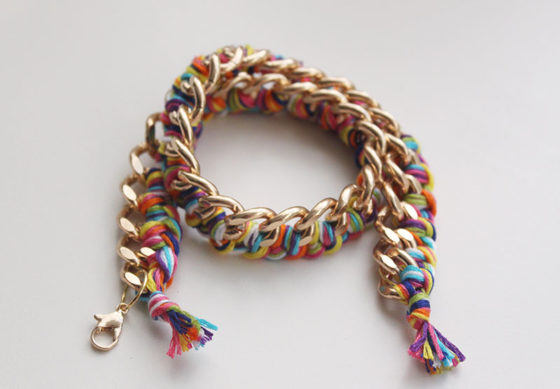 Braided-Chain-Bracelet