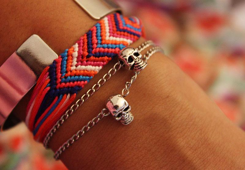 Skull-Bracelet