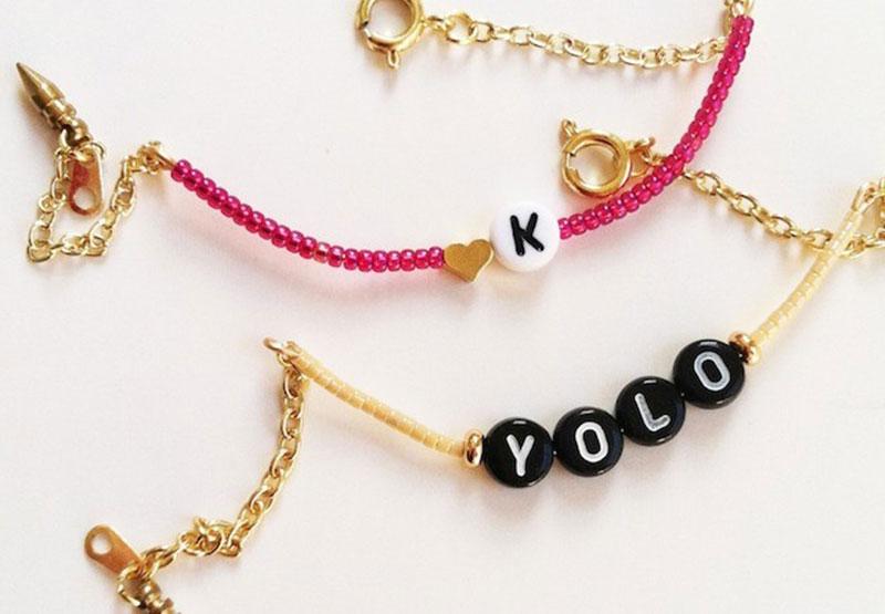 Alphabet-Bracelet