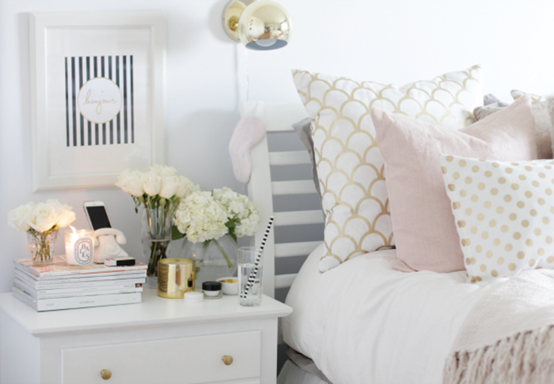 Http Tuningpp Com White And Gold Bedroom Decor Tumblr