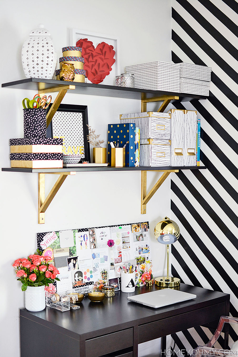 Diy Home Inspo Gold Shelf Brackets Why Don T You Make Me