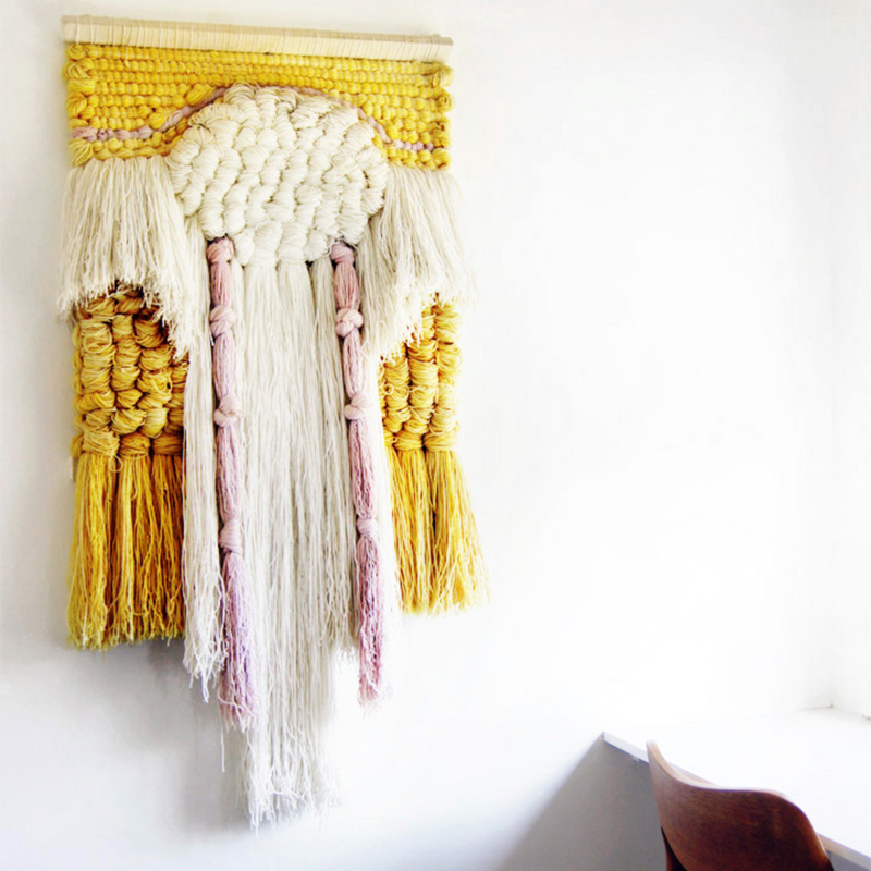 Home Inspo // Woven Wall Hangings
