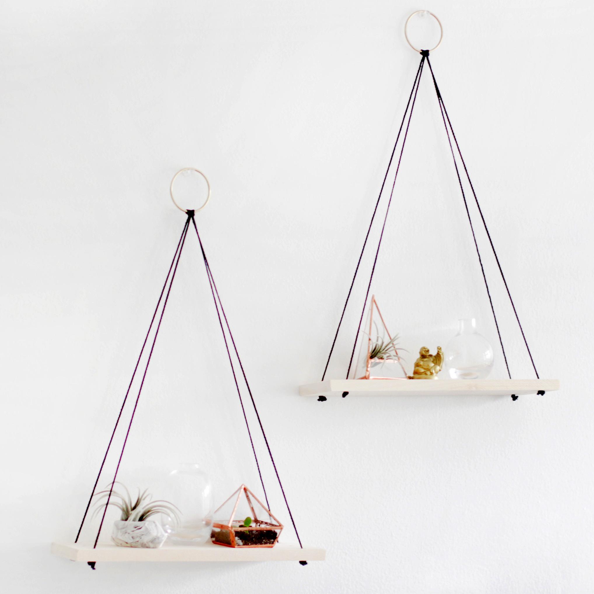 Hanging Shelves diy hanging shelves – why don't you make me
