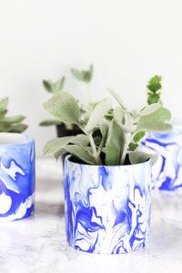 DIY-Indigo-Marbled-Mini-Planter