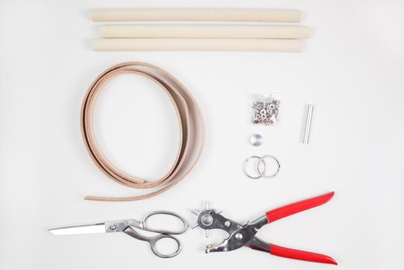 DIY-Hanging-Leather-Rack