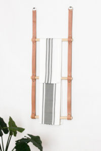 DIY-Hanging-Leather-Rack