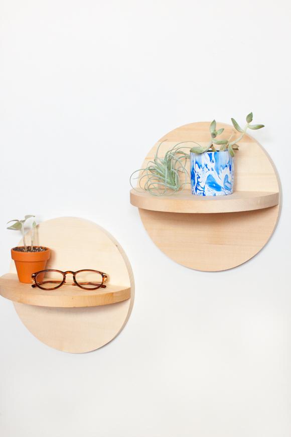 DIY-Circle-Shelves