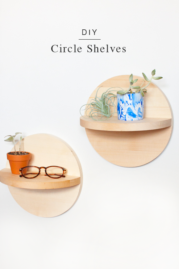DIY-Circle-Shelves