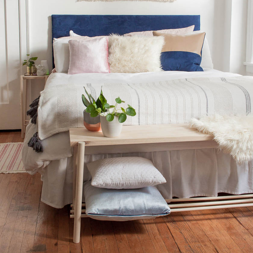 Fantastic Diy Dowel Bed Bench Why Dont You Make Me Pdpeps Interior Chair Design Pdpepsorg