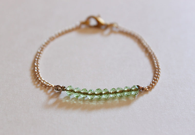 Diy Bead Bracelet Tutorial Why Don T