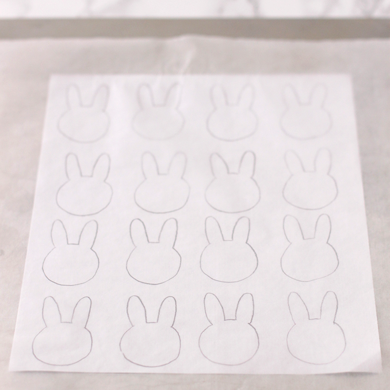 This is an image of Macaron Printable Template for cartoon